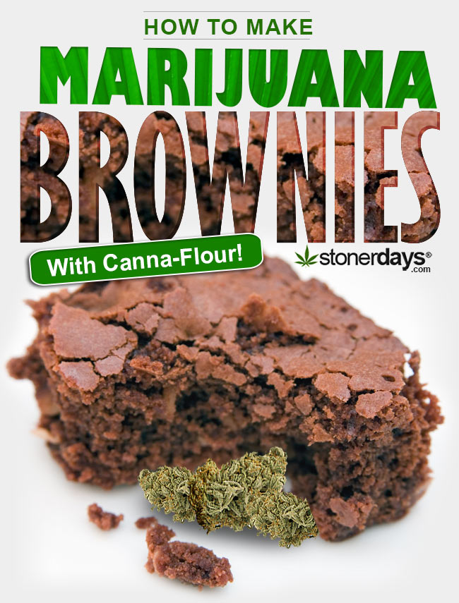 How to Make Marijuana Brownies