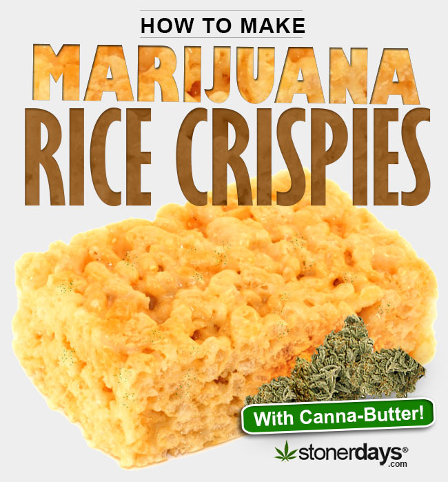 How to make rice crispies with marijuana for How do you make rice crispy treats