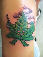 mariijuana-tattoo
