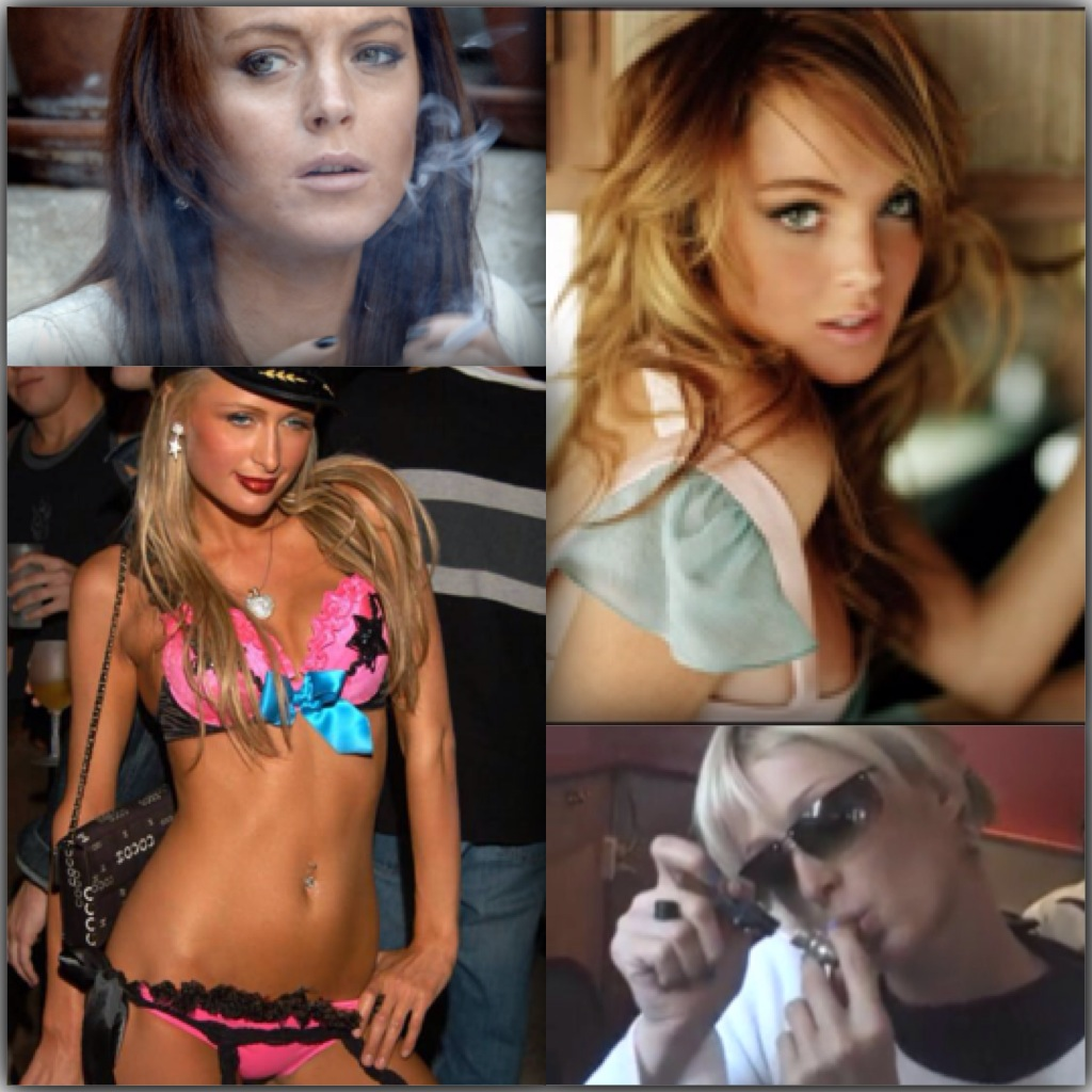 paris-hilton-and-lindsey-lohan-smoking