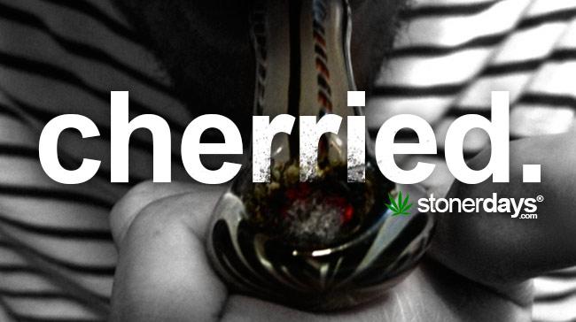 cherried marijuana bowl