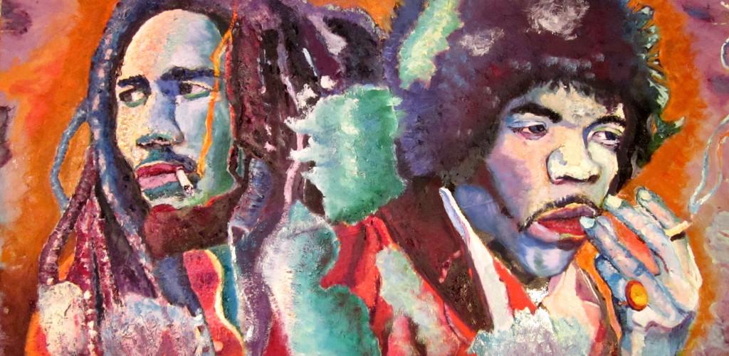 Bob and Jimi