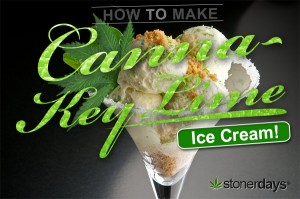 Canna Key Lime Ice Cream Stoner Cookbook-1